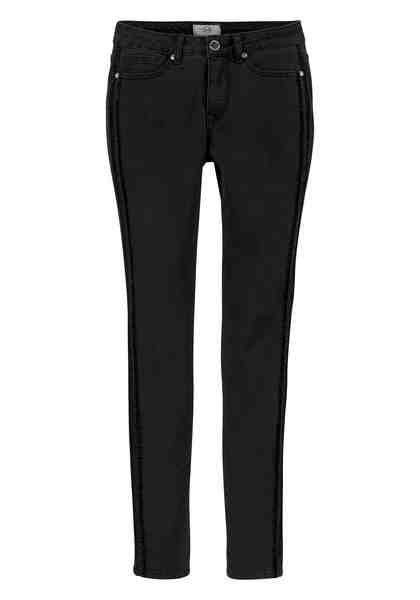 GUIDO MARIA KRETSCHMER Skinny-fit-Jeans mit Samtstreifen