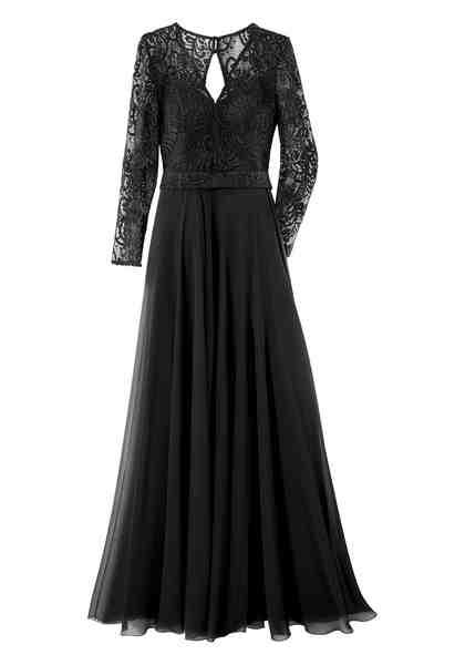 GUIDO MARIA KRETSCHMER Abendkleid in klassisch ausgestellter Form