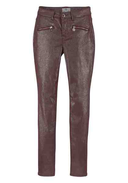 GUIDO MARIA KRETSCHMER Skinny-fit-Jeans mit Logo-Zippern