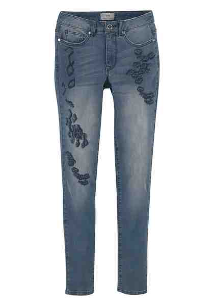 GUIDO MARIA KRETSCHMER Skinny-fit-Jeans im Distressed-Look