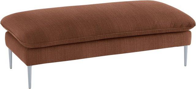 W.SCHILLIG Hocker »enjoy&MORE«| Füße silber matt| Breite 151 cm | Wohnzimmer > Hocker & Poufs > Sitzhocker | W.SCHILLIG
