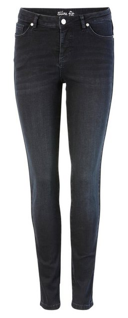 Hosen - Aniston SELECTED Skinny fit Jeans Regular Waist › blau  - Onlineshop OTTO