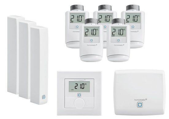 Homematic IP Smart Home Set »Heizen und Raumklima (beliebig Erweiterbar)«