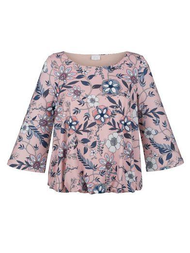 Alba Moda Shirt im floralen Dessin