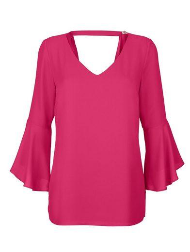 Alba Moda Bluse großzügiger Rückenausschnitt