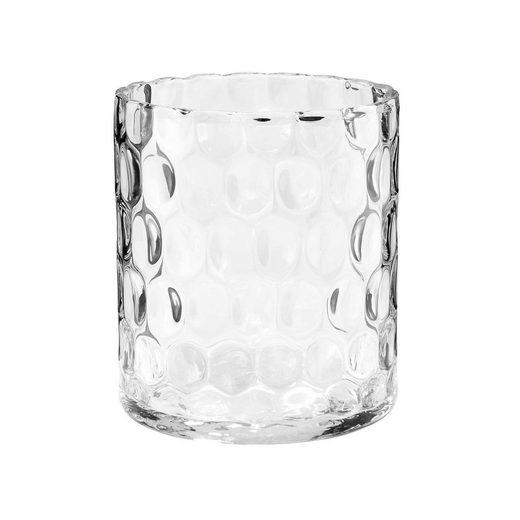 BUTLERS AGATA »Zylinder Vase mit Struktur 17 cm«