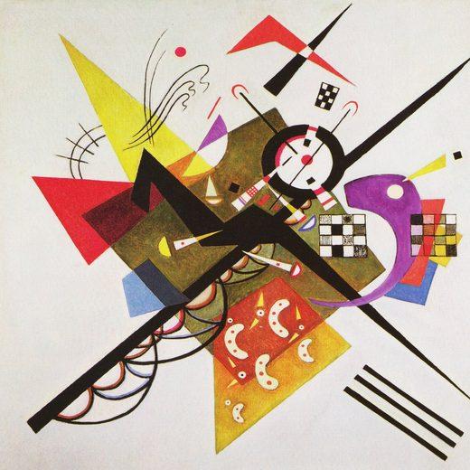 Deco-Panel »W. KANDINSKY / On White II«
