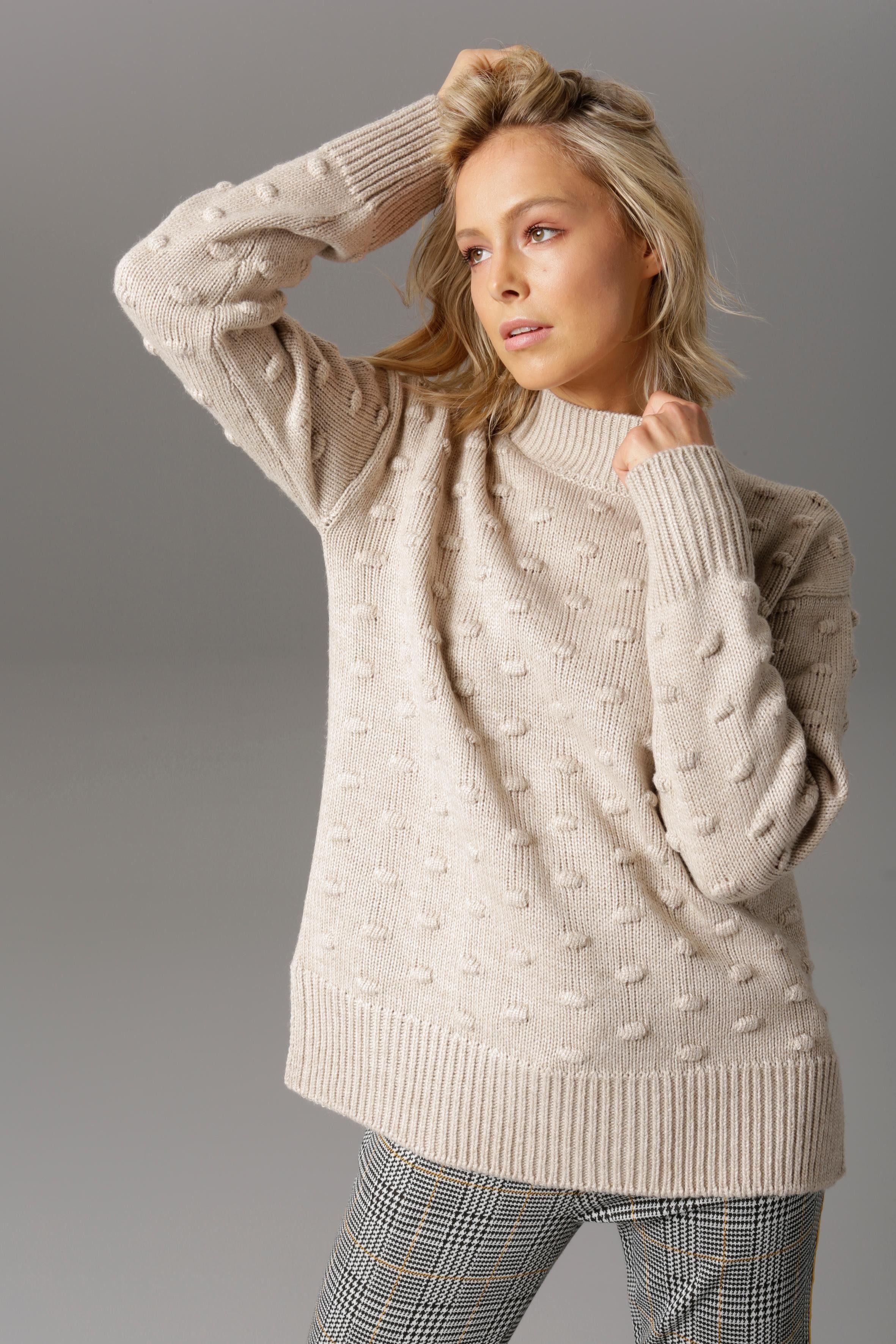 Aniston CASUAL Stehkragenpullover auf   Aniston by