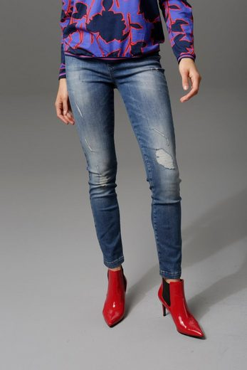Aniston CASUAL Slim-fit-Jeans regular waist