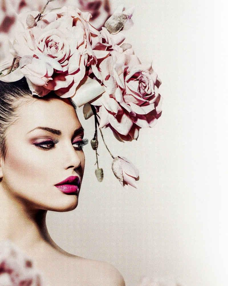 my home Kunstdruck »Rose Lady«