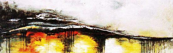 my home Gemälde »Welle«