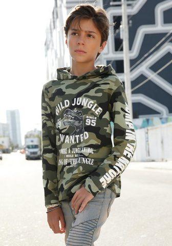BUFFALO Marškinėliai su gobtuvu »Interlockshir...