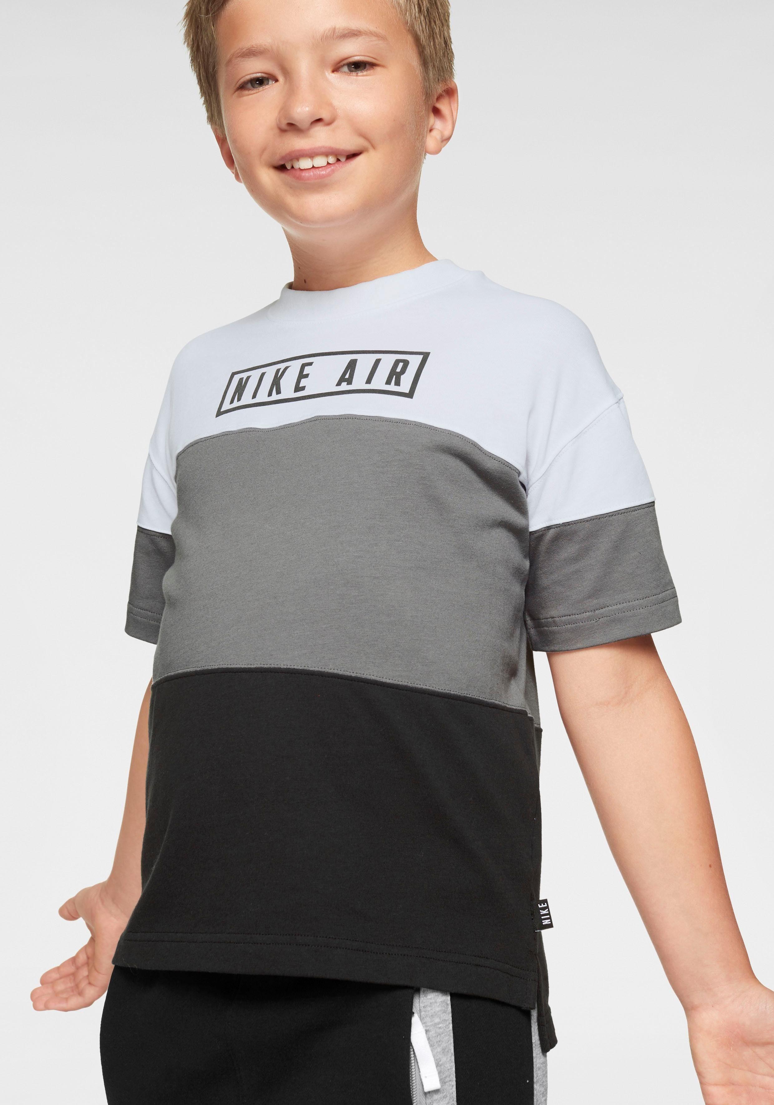Nike Sportswear T Shirt »BOYS NIKE AIR TOP SHORTSLEEVE« online kaufen | OTTO