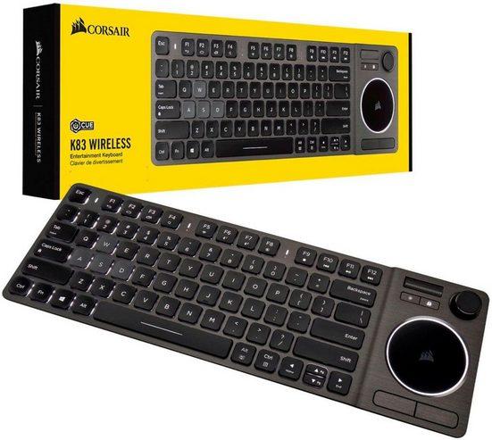 Corsair »K83 Wireless Entertainment« Gaming-Tastatur