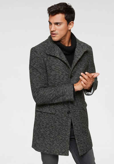 Einkaufen vorbestellen Schnäppchen 2017 Herren Mantel in schwarz online kaufen | OTTO