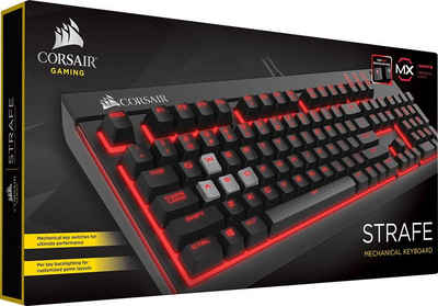 Corsair »STRAFE Mechanical - Cherry MX Red« Gaming-Tastatur