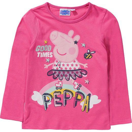 Peppa Pig Langarmshirt für Mädchen