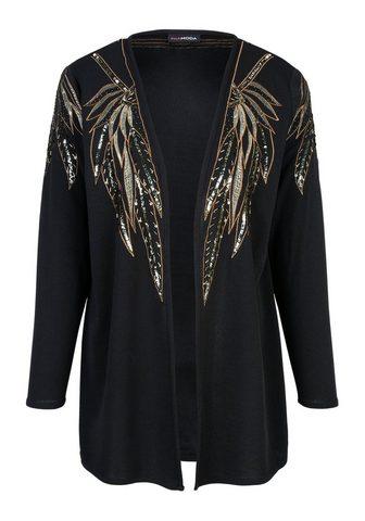 MIAMODA Megztinis su perlai žvyneliai ir apvad...
