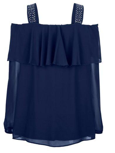 MIAMODA Bluse mit freien Schultern