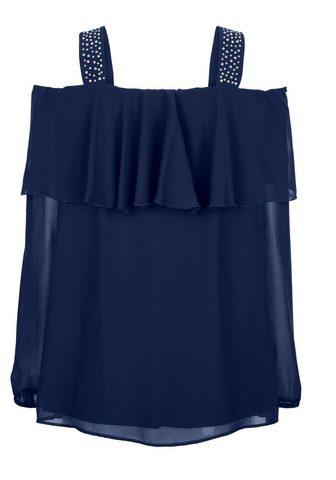 Блуза с freien Schultern