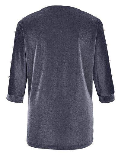 MIAMODA Shirt aus glitzernder Qualität