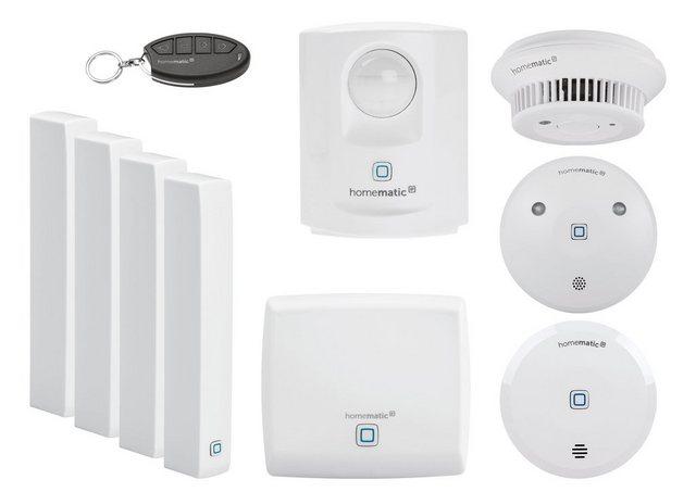 Homematic IP Smart Home Set »Sicherheit und Alarm (beliebig Erweiterbar)«