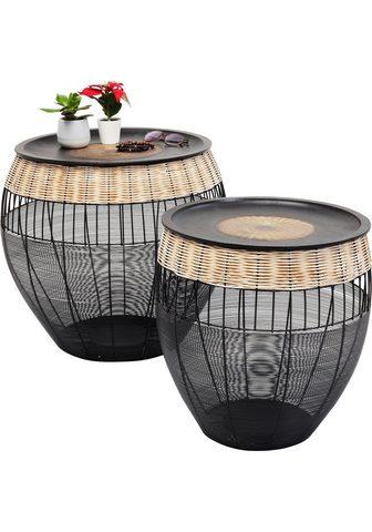 KARE Pristatomas stalas »African Drums« (Ri...