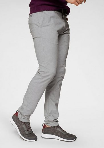 Joop Jeans Stoffhose »Steen« in melierter Optik, Coinpocket