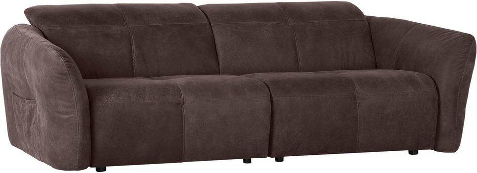 Home affaire Big-Sofa »Arkansas«, mit Rückenfunktion online kaufen | OTTO