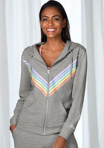 BUFFALO Megztinis su gobtuvu »Rainbow«