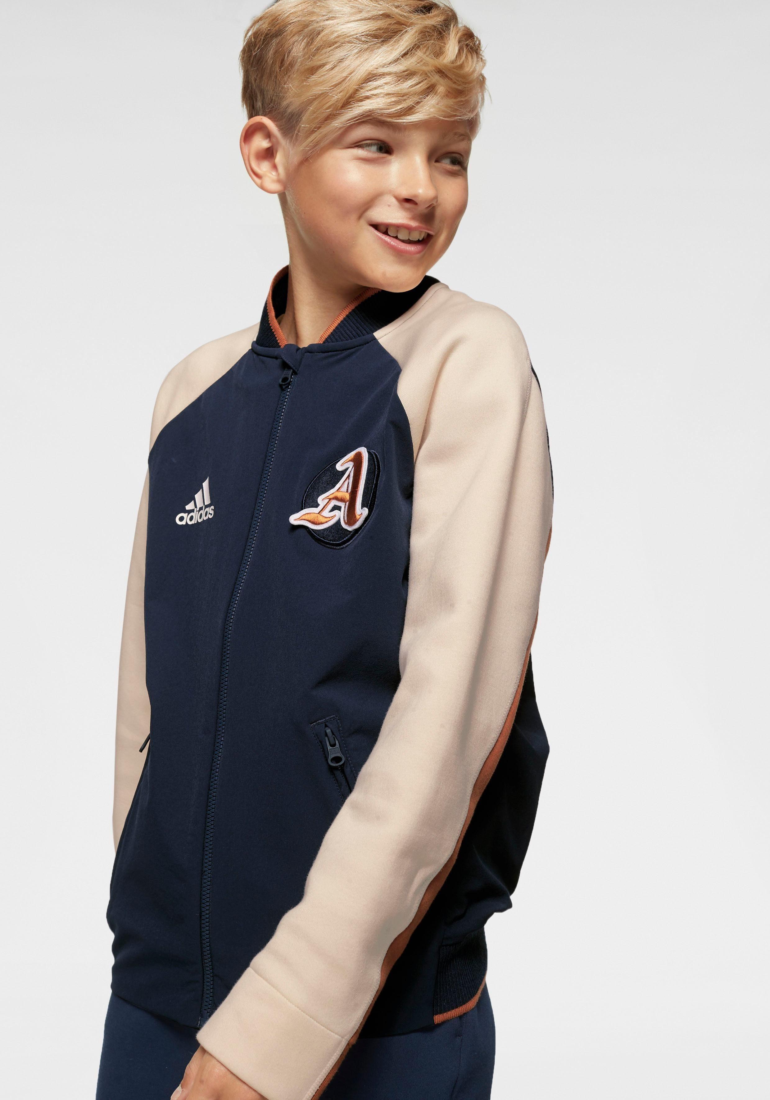 Adidas Boy Jacket« Vrct »young Collegejacke Performance 5RAq4jL3
