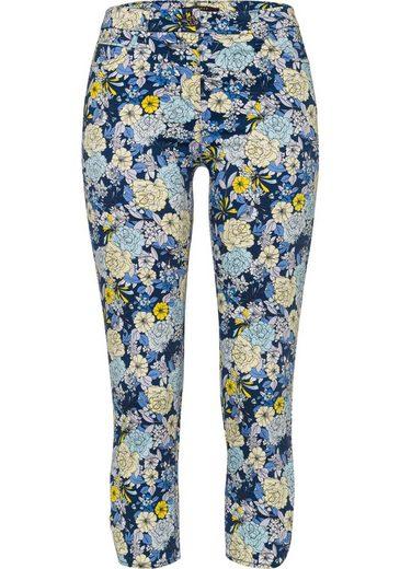 Esprit Collection 7/8-Hose im floralen Alloverdruck