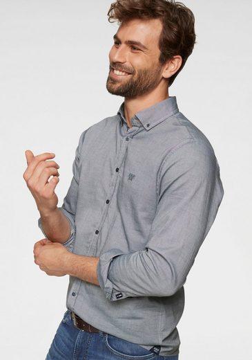 """Joop Jeans Langarmhemd »SLIM FIT """"Haven-W""""« dezent schimmernde Optik"""