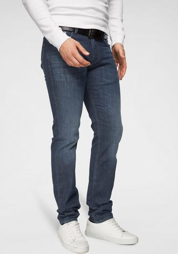 "Joop Jeans 5-Pocket-Jeans »MODERN FIT ""Mitch""« individuelle Abriebeffekte, jede Jeans ein Unikat"