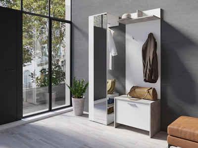 Homexperts Garderobenschrank »Benno« mit Spiegel