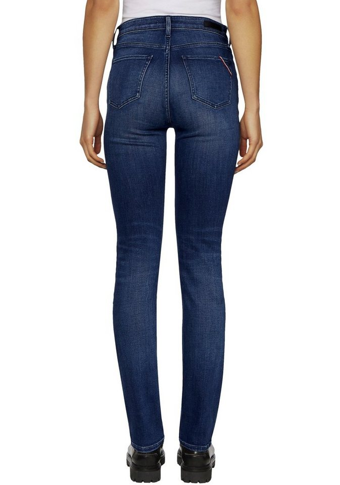 tommy hilfiger gerade jeans mit tommy streifen auf der ges tasche online kaufen otto. Black Bedroom Furniture Sets. Home Design Ideas
