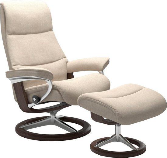 Stressless® Relaxsessel »View«, mit Signature Base, Größe M,Gestell Wenge
