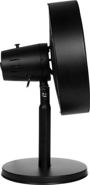 Tristar Tischventilator VE-5928  Exklusives matt-schwarzes Design   Baumarkt > Heizung und Klima > Ventilatoren   Tristar