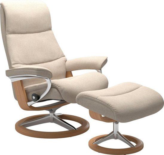 Stressless® Relaxsessel »View«, mit Signature Base, Größe M,Gestell Eiche