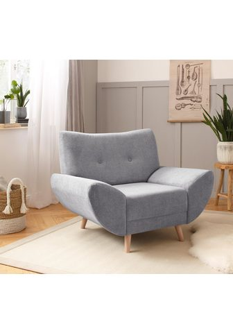 HOME AFFAIRE Minkštų baldų komplektas »Naas« (3 vnt...