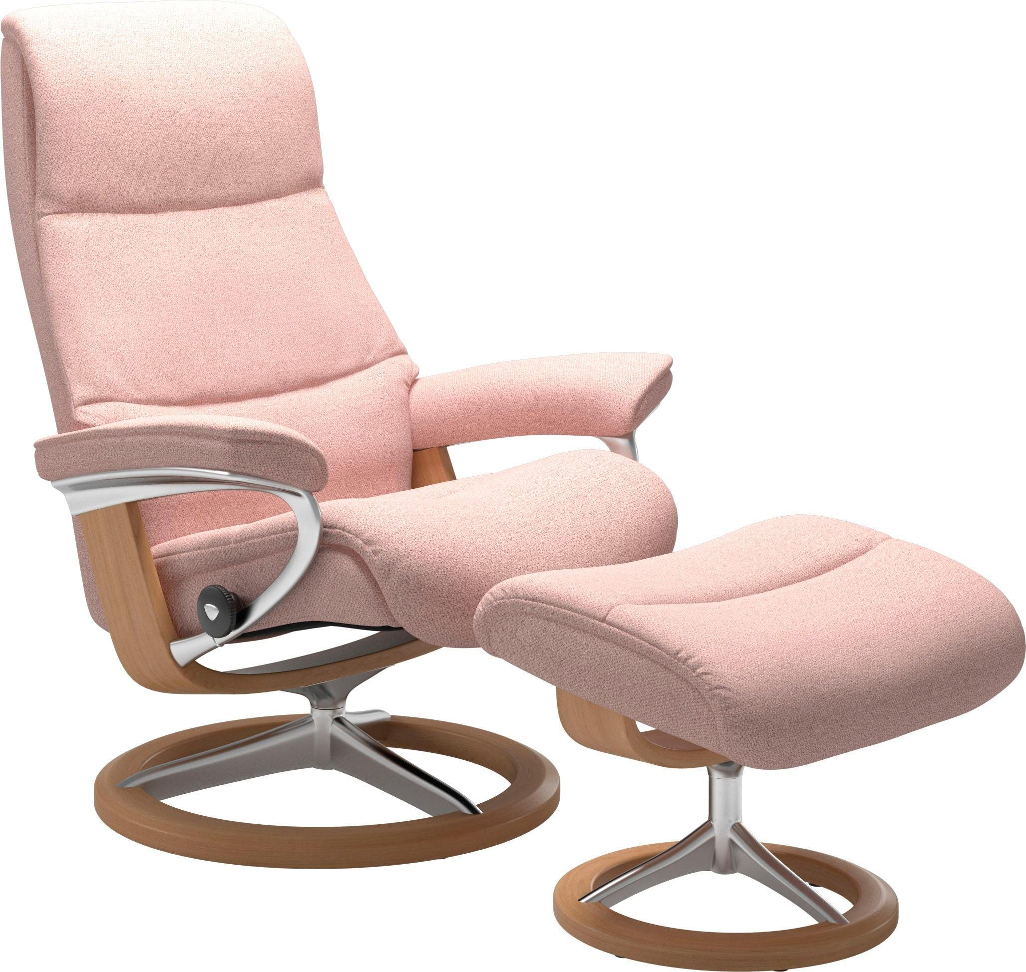 Stressless® Relaxsessel »View« (Set), mit Signature Base, Größe M,Gestell Eiche online kaufen | OTTO