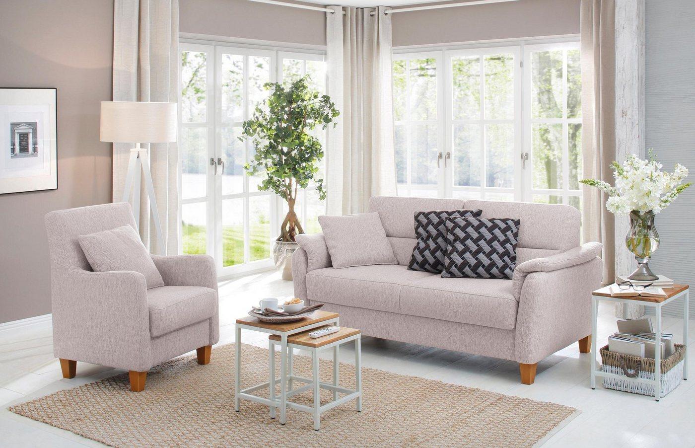 Sofas - Home affaire 2,5 Sitzer »Palmera«, Federkern Polsterung  - Onlineshop OTTO