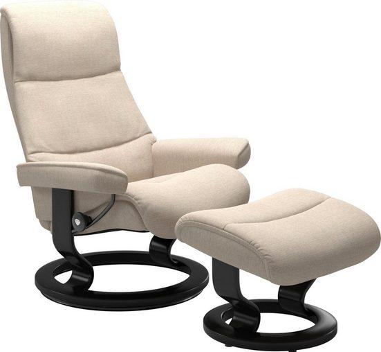 Stressless® Relaxsessel »View«  mit Classic Base  Größe L Gestell Schwarz