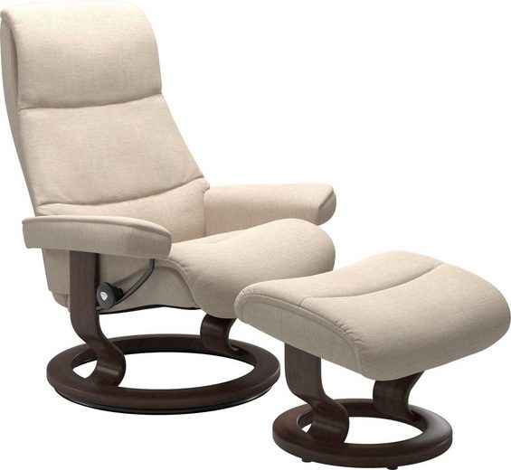 Stressless® Relaxsessel »View« (Set), mit Classic Base, Größe L,Gestell Wenge