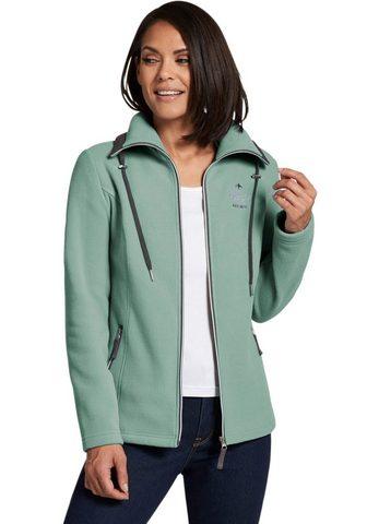 CASUAL LOOKS Флисовая куртка с durchgehendem замок