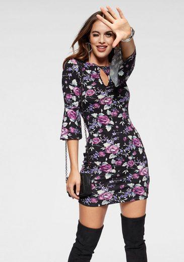 Melrose Jerseykleid mit Paisley-Muster