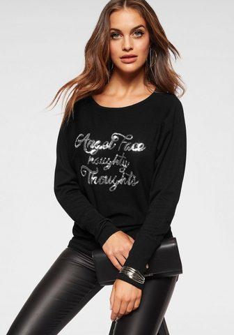 Пуловер с круглым вырезом »Angel...