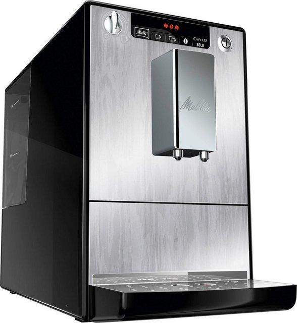 Melitta Kaffeevollautomat Solo Organic Silver E 950-111