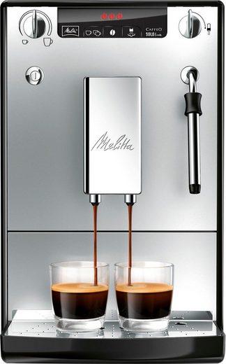Melitta Kaffeevollautomat Solo & Milk silber/schwarz E953-102