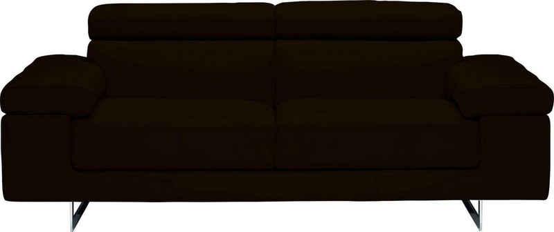 NATUZZI EDITIONS 2-Sitzer »Saggezza«, Breite 204 cm, in zwei Lederqualitäten